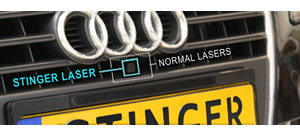 small discreet laser Stinger protection